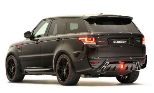 On sale body kits for Land rover Startech sport 2014