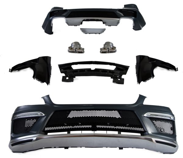 On sale body kit for mercedes benz ml63 w166 for Mercedes benz body parts