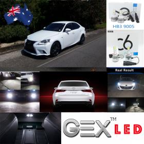 best price Lexus IS250 Second generation XE20 2005–2013 LED Conversion Kit