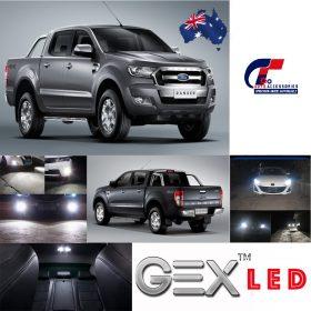On sale upgrade 6000K led headlight kit low beam Ford ranger MK2