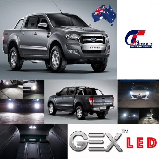 On sale upgrade 6000K led headlight kit low beam Ford ranger MK2