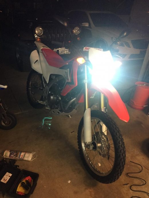 best price Honda CRF250L Led Motorbike Headlights Conversion Kit