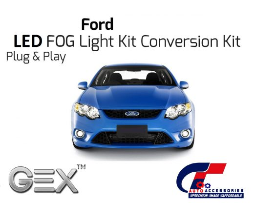 best price LED H3 6000k Fog Light Conversion Kit BA/BF/FG/Falcon and SY SX Territory