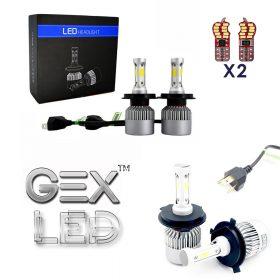 best price HB4/9006 50W LED Headlight Conversion Kit 6000K 7600LM Bright White