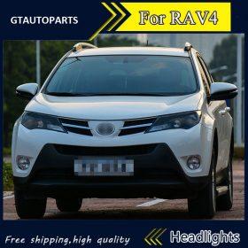 best price LED HEADLIGHTS CONVERSION KIT FULL PACKAGE 8Pcs Toyota Rav4