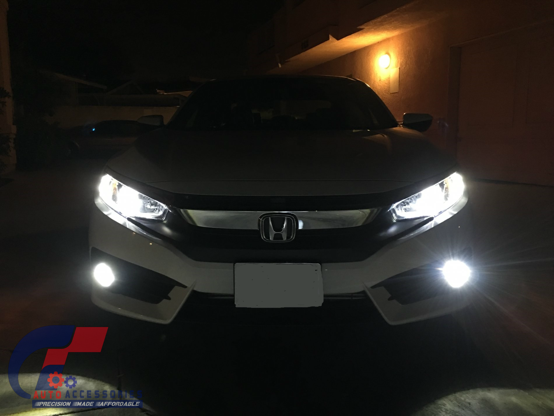 led headlights conversion kit full package for honda civic. Black Bedroom Furniture Sets. Home Design Ideas