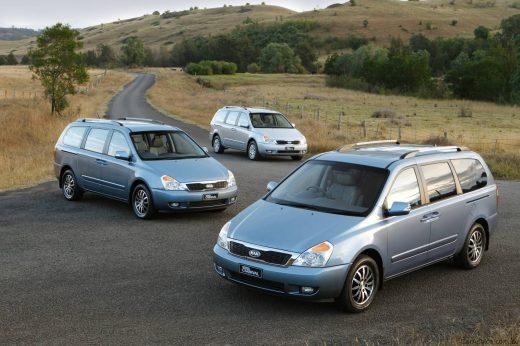 On sale Kia Carnival Van 2.5 V6 1999 DB1311 - FrontBrake pads
