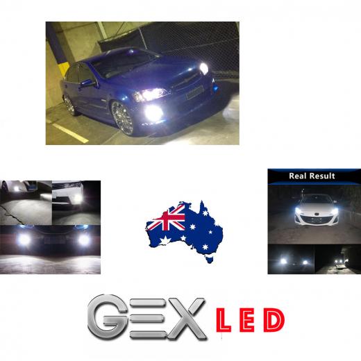 F2 Mini Holden Commodore VE Series 2 Hi Low Fog LED Headlights Kit