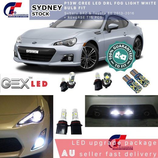 best P13W CREE Led DRL Fog light white bulb fir Subaru BRZ GT86FT86