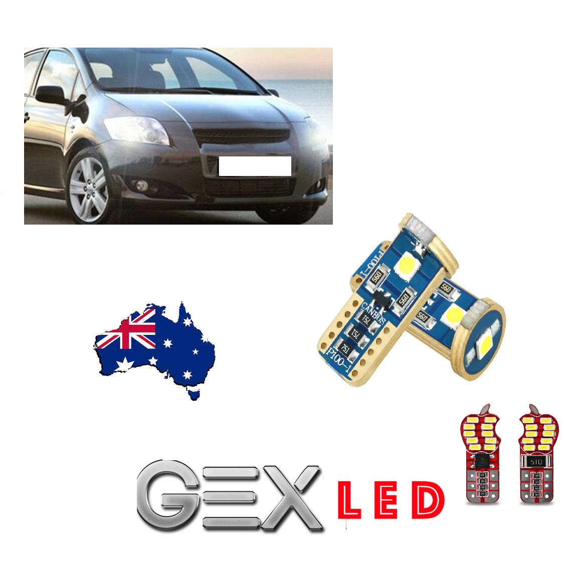 On sale Toyota Corolla plug & play led light parkers nuber plate