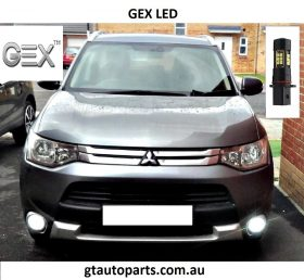 on sale P13W SMD DRL fog light white led Mitsubishi outlander