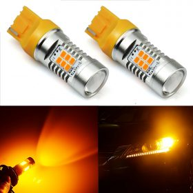 Online sale LED T20 Wedge Light 7440 7443 AMBER INDICATOR TURN SIGNAL For Many Cars