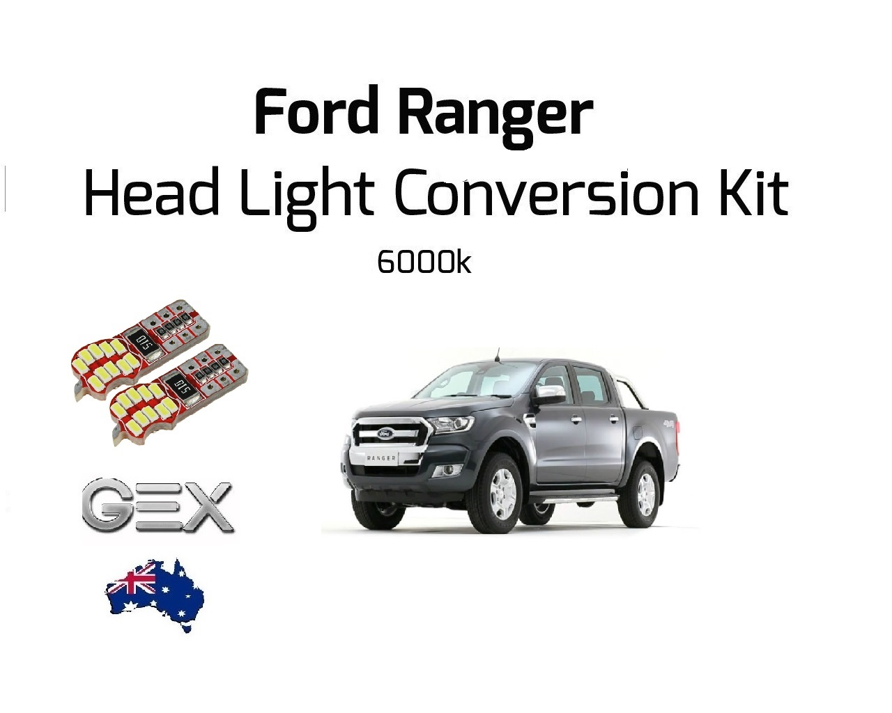 new ford ranger 2016 led fog lights headlights conversion