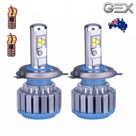 Online sale LED Headlights Kit High Power 8000LM Bulbs CANBUS ERROR Free