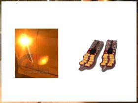 Xenon Bright Amber Cree T10 Guard Led Signal Indicator LED's
