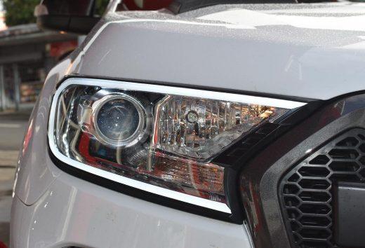 On sale led daytime DRL headlight cover Ford ranger
