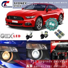 best price P13W CREE LED Daytime Light White bulb fit Ford Mustang 2014-2018 Led lights