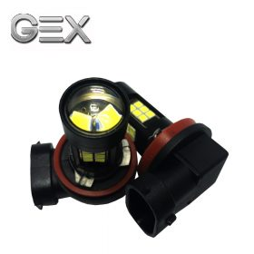 free delivery 6000k white led projector high power fog driving light bulbs