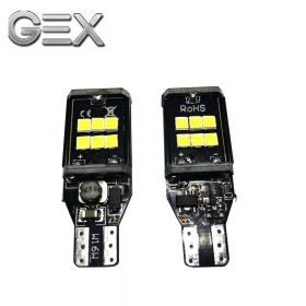2PCS Super Bright Xenon White T15 2835 14 SMD LED