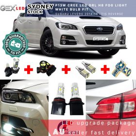 On sale Led package T10 parkers P13W CREE DRL H8 foglights for Levorg