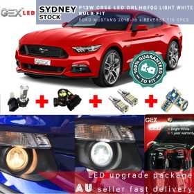Best price Led package T10 parkers P13W CREE DRL H8 foglights T15 reverse for Mustang