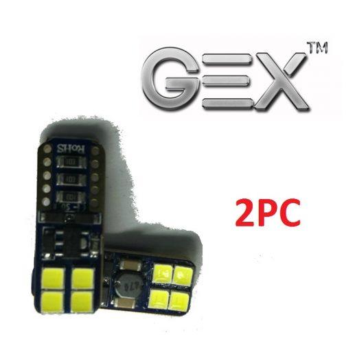 best buy 12V euro car T10 led wedge 6000k white error free light bulbs