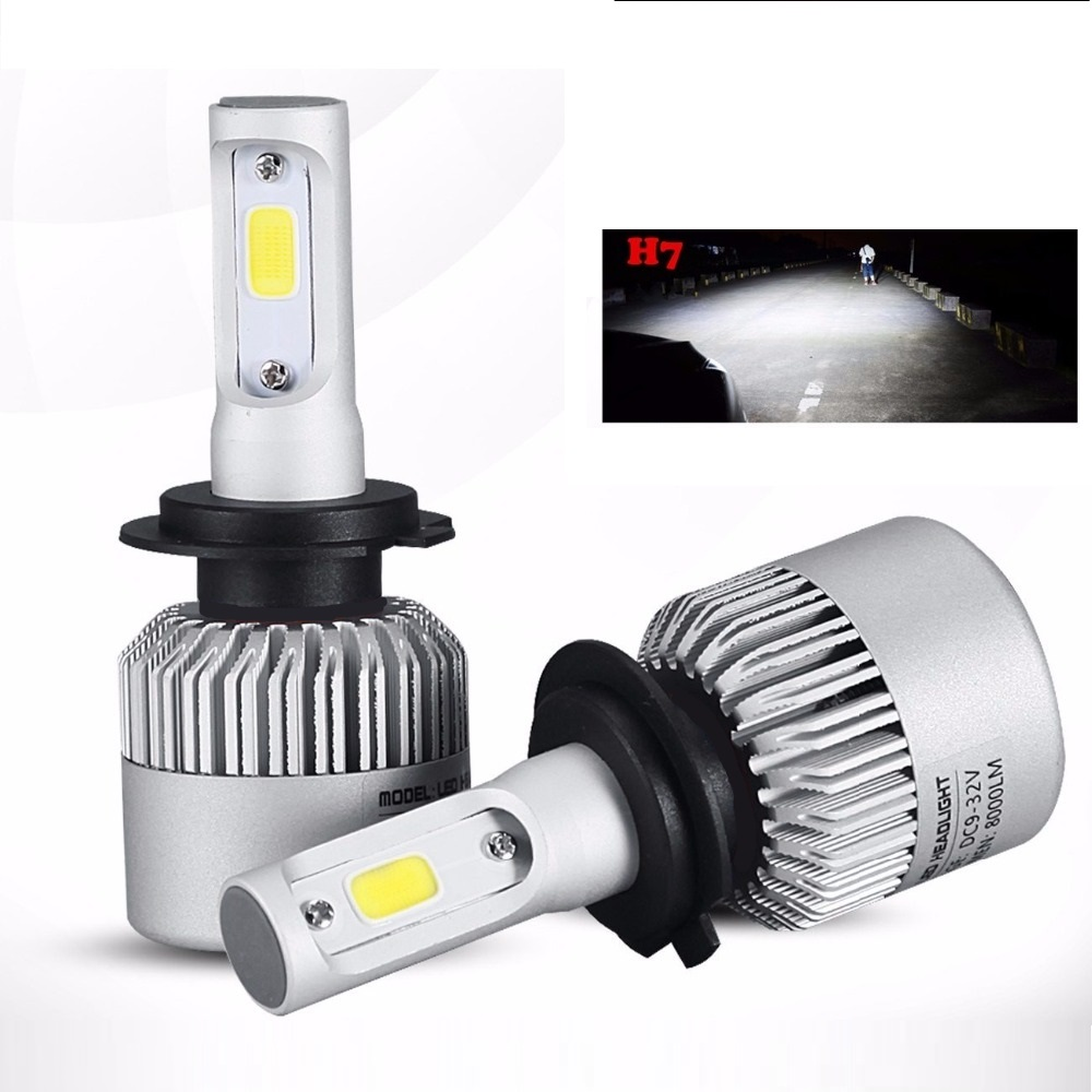 New H4 H7 Hi Lo Led Headlight Bulbs Fits Ford Bf Ba Fg