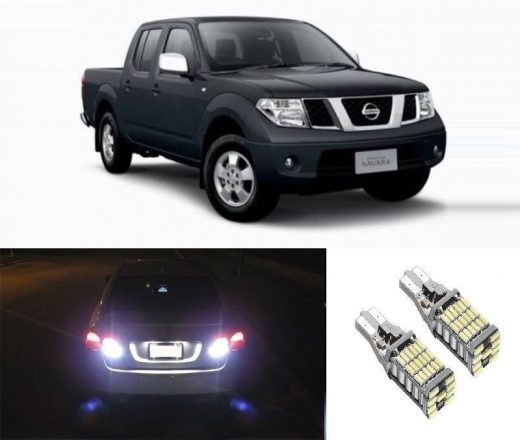 best price Nissan Navara bright white xenon T15 led reverse light