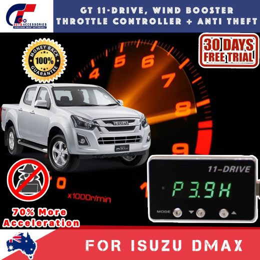 best price GT Wind Booster Anti Theft ISUZU DMAX 2011-2018