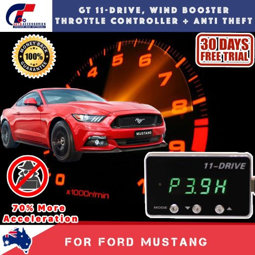 best price GT Wind Booster Anti Theft Ford Mustang 2011-2018