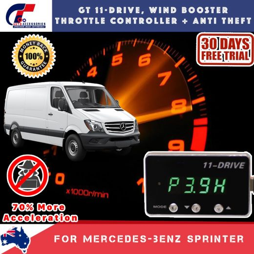 best price GT Wind Booster Anti Theft Mercedes Sprinter 06-Now