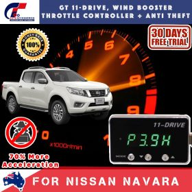 best price GT Wind Booster Anti Theft Nissan Navara 2016-2018