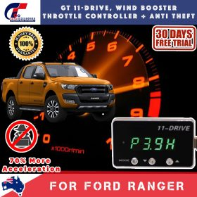 best price GT Wind Booster Anti Theft FORD RANGER PX MK2 2012-2018