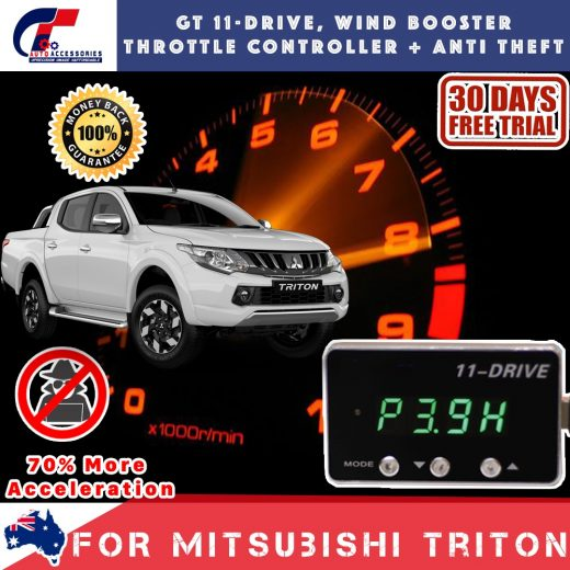 best price GT Wind Booster Anti Theft Mitsubishi Triton 2015-2018
