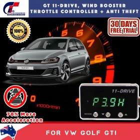 best price GT Wind Booster Anti Theft Volkswagen Golf 2012-2018