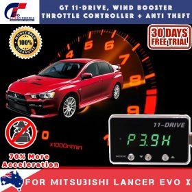 best price GT Wind Booster Anti Theft Mitubishi Lancer Evo