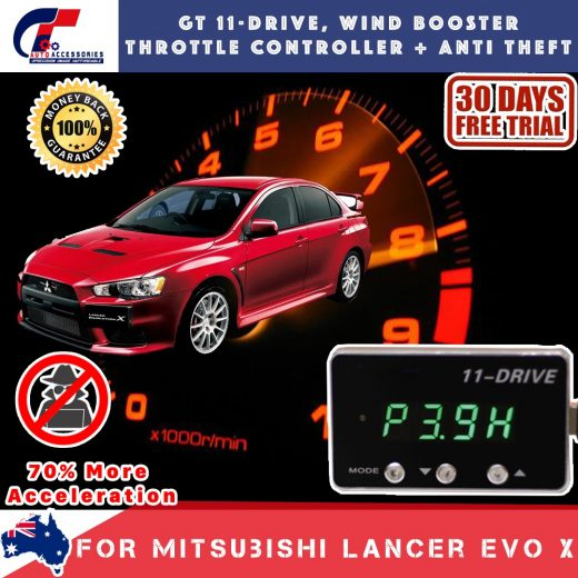 best price GT Wind Booster Anti Theft Mitubishi Lancer Evo