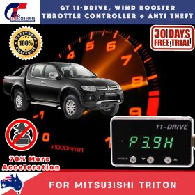 best price GT Wind Booster Anti Theft Mitsubishi Triton 05-14