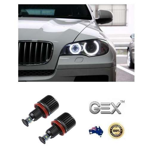 best price BMW X-series E71 E72 X6 2008-2013 LED Angel Halo Ring Bulbs Lights