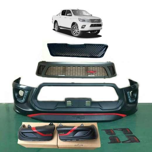 best price Toyota Hilux REVO 15-18 Front Bumper Bar Wheel Rear Kit