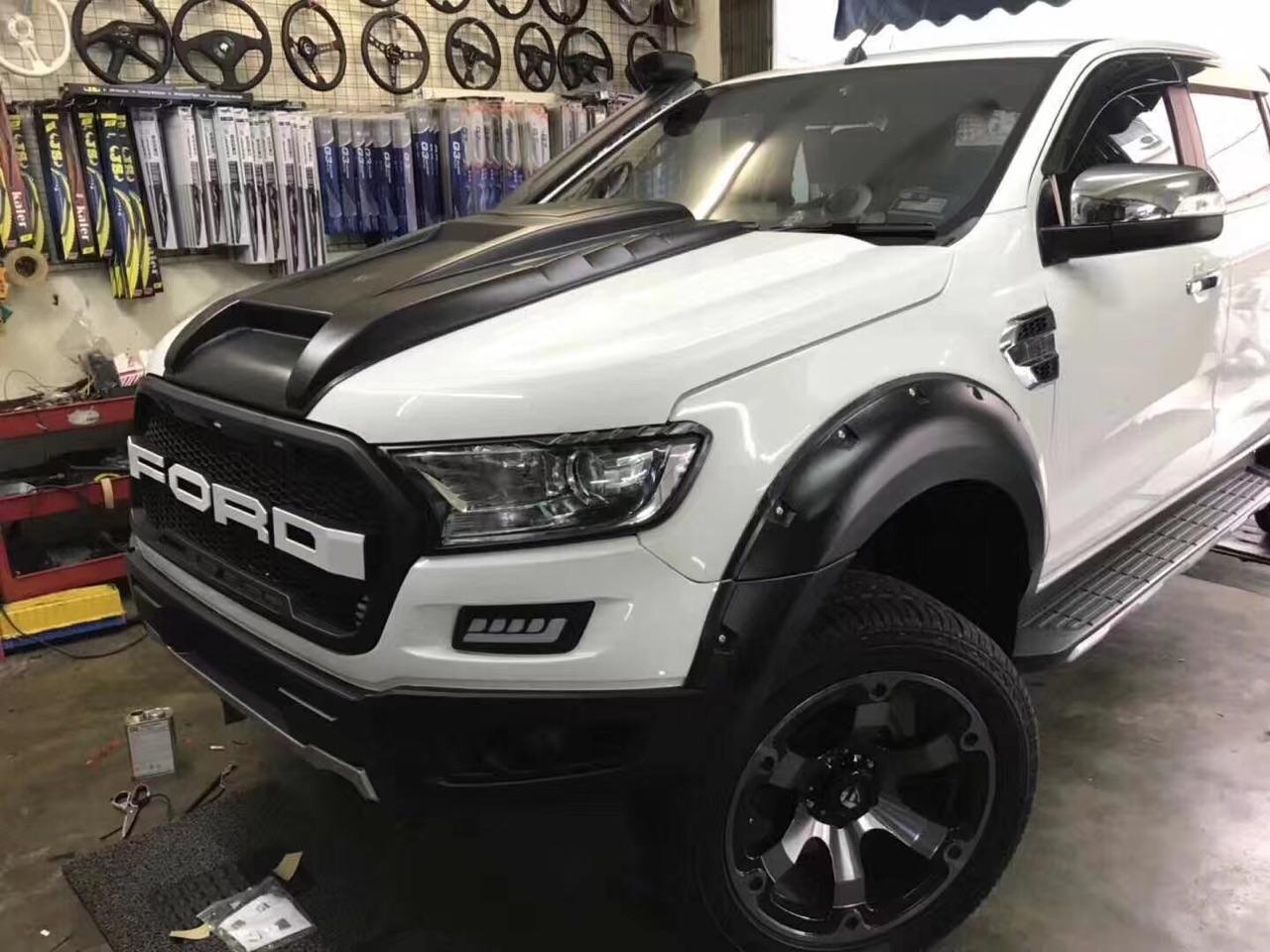 Fits Ford Ranger Xl Xls Xlt Wildtrak Mk2 T7 15 18 Raptor Body Kit New