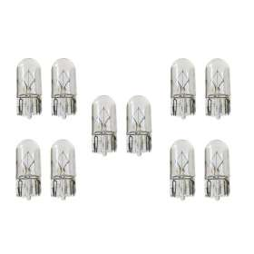 best price Limastar Halogen T10 12V 5W White Clear Bulb Globe X100