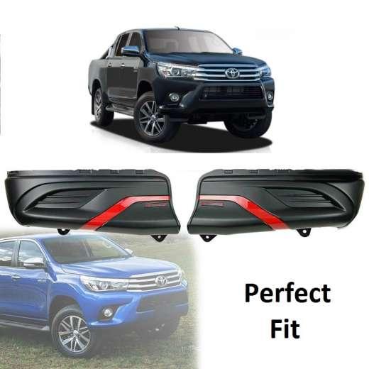 best price Toyota Hilux REVO 15-18 Rear Bumper Guard Cladding Cover