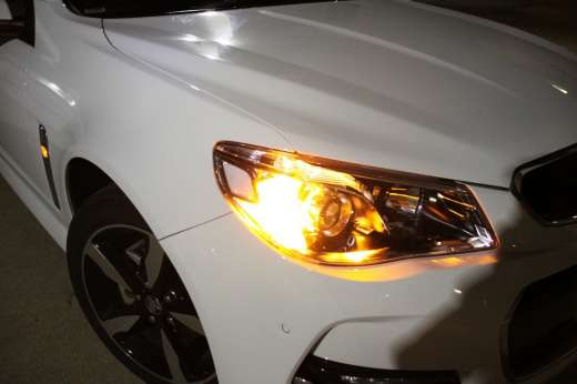 led front Holden VF Commodore