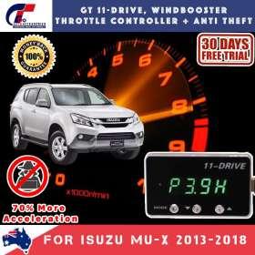 best price GT Wind Booster Anti Theft For ISUZU MU-X