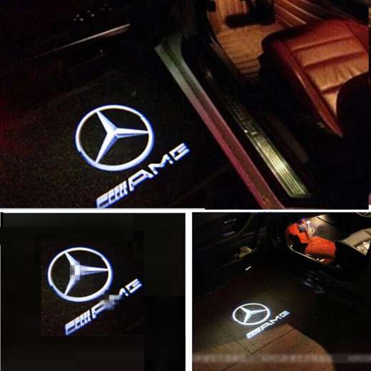 best price Mercedes AMG Projector Courtesy Puddle Shadow Laser Light Lamp Logo