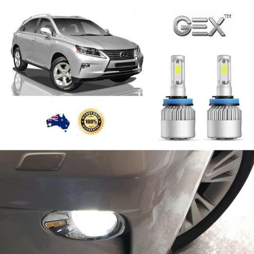 best price Lexus RX350 2013-Onwards 6000K Bright White LED Fog Lights Kit