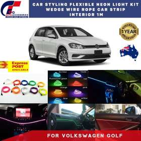 best price Volkswagen Golf Styling Flex Neon Light Car Strip Interior 1M