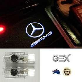 best price Mercedes AMG R ML GL Projector Courtesy Shadow Light Lamp Logo