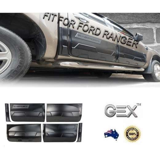 Ford Ranger PX2 PX3 2015-2019Side Door Body Molding Cladding Trim
